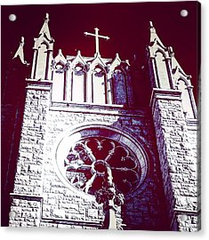 Cathedral In Archangel Glow Acrylic Print