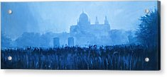 Cathedral In The Mist Acrylic Print by Conor McGuire