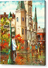 Cathedral Jazz Acrylic Print