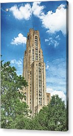 Cathedral Of Learning Acrylic Print