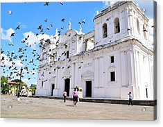 Cathedral Of Leon Acrylic Print