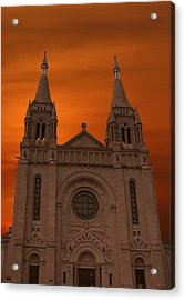 Cathedral Of Saint Joseph Sioux Falls Acrylic Print by Art Spectrum