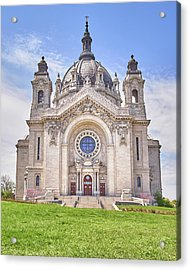 Cathedral Of Saint Paul, In St. Paul Minnestoa Acrylic Print by Jim Hughes