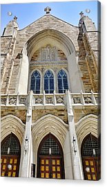 Cathedral Of St John Front Acrylic Print