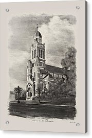 Cathedral Of St John The Evangelist Acrylic Print by Ron Landry