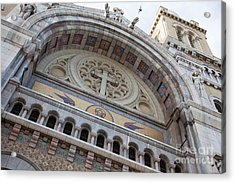 Cathedral Of St Vincent De Paul I Acrylic Print by Irene Abdou