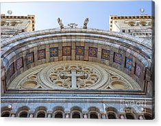 Cathedral Of St Vincent De Paul Iv Acrylic Print by Irene Abdou