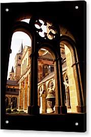 Cathedral Of Trier Window Acrylic Print