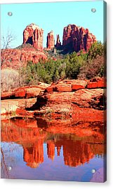 Cathedral Reflections 2 Acrylic Print
