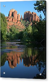 Cathedral Reflections Acrylic Print by Jimmy Fox