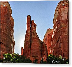 Cathedral Rock 05-155 Acrylic Print