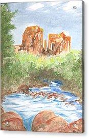 Cathedral Rock 2,  Sedona, Az. Acrylic Print