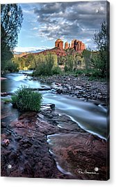 Cathedral Rock And Oak Creek 3381 Acrylic Print by Dan Beauvais
