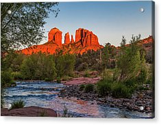 Cathedral Rock At Red Rock Crossing Acrylic Print