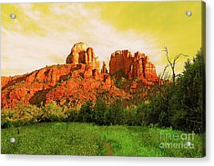 Cathedral Rock Az Acrylic Print