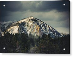 Acrylic Print featuring the photograph Cathedral Rock by Christopher Meade
