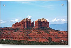 Cathedral Rock Acrylic Print by Kelly Wade
