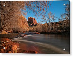 Cathedral Rock Sedona Arizona Acrylic Print by Larry Marshall