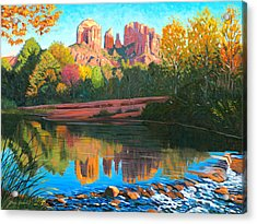 Cathedral Rock - Sedona Acrylic Print