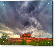 Cathedral Rock Vortex Acrylic Print