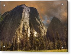 Cathedral Rocks Acrylic Print by Michael Cleere