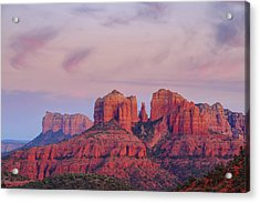 Acrylic Print featuring the photograph Cathedral Rock by Patricia Davidson
