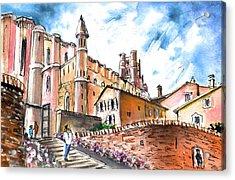 Cathedral Sainte Cecile In Albi 02 Acrylic Print