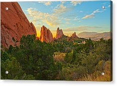 Cathedral Spires Acrylic Print by Tim Reaves