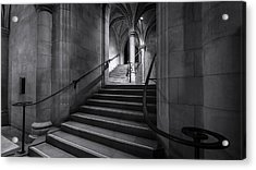 Cathedral Stairwell Acrylic Print