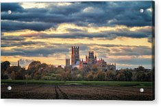 Cathedral Sunset Acrylic Print