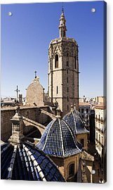 Cathedral Valencia Micalet Tower Acrylic Print