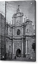 Acrylic Print featuring the photograph Cathedral Valencia Spain by Joan Carroll