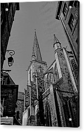 Acrylic Print featuring the photograph Cathedrale St. Vincent  by Elf Evans