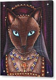 Catherine Howard Cat Acrylic Print