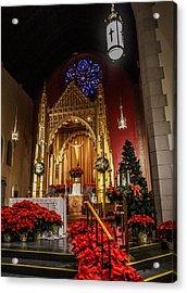 Catholic Christmas Acrylic Print