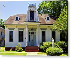Acrylic Print featuring the photograph Catholic Rectory by Ken Frischkorn