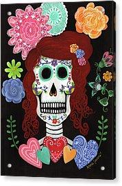 Catrina's Garden Acrylic Print