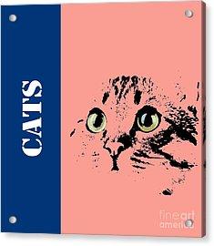 Cats Logo Acrylic Print