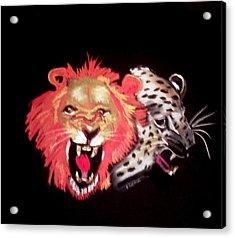 Cats Meow Acrylic Print