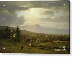 Catskill Mountains Acrylic Print by George Inness