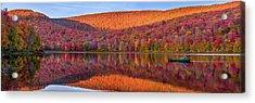 Acrylic Print featuring the photograph Catskills Panorama 1 by Mark Papke
