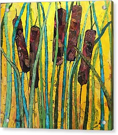 Cattails Acrylic Print
