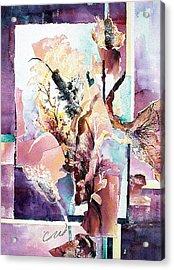 Cattails Three Acrylic Print