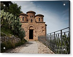 Acrylic Print featuring the photograph Cattolica Di Stilo by Bruno Spagnolo