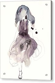 Catwalk Acrylic Print by Toril Baekmark