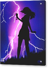 Caught In A Flash Acrylic Print
