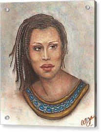 Acrylic Print featuring the pastel Caught My Eye by Alga Washington