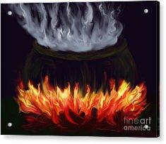 Cauldron Acrylic Print