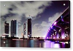 Causeway Bridge Skyline Acrylic Print