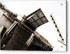 Acrylic Print featuring the photograph Causeway Bridge Wrightsville Beach by Phil Mancuso